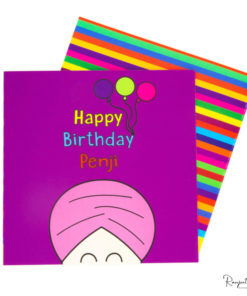 Sikh colouring books, Sikh greeting cards, happy birthday paaji, penji greeting cards