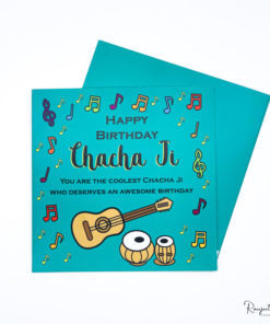 chacha punjabi greeting card