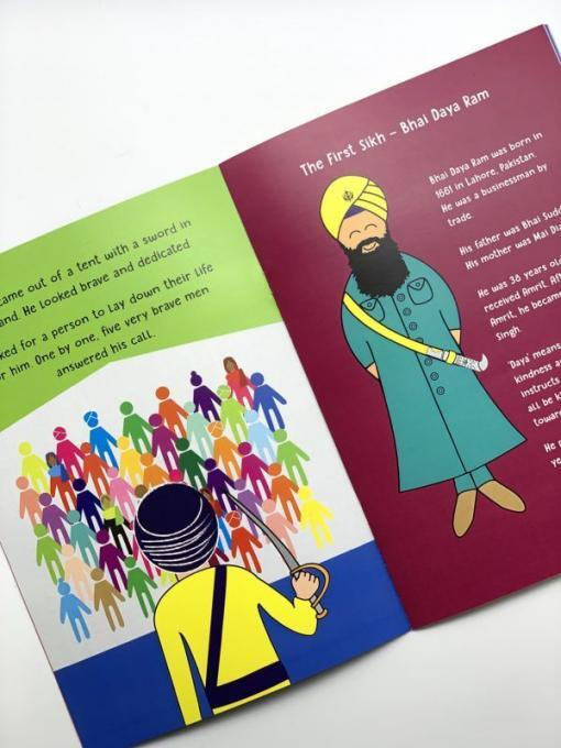 sikh bedtime story history book