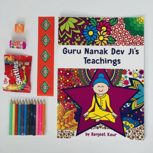 guru nanak dev jis book for children