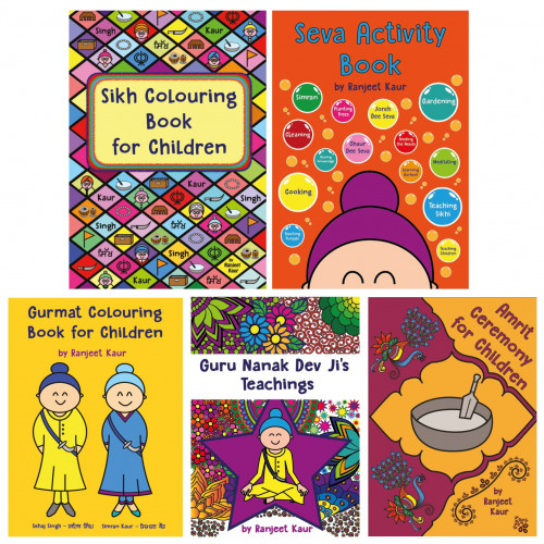 Sikh Colouring Books